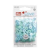 Prym Love: Snaps neppari 9mm, minttu lajitelma 36kpl