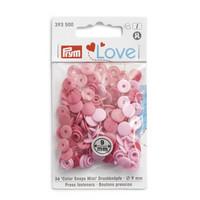 Prym Love: Snaps neppari 9mm, pinkki lajitelma 36kpl