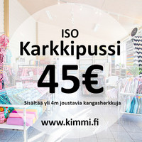 Iso Karkkipussi 4m