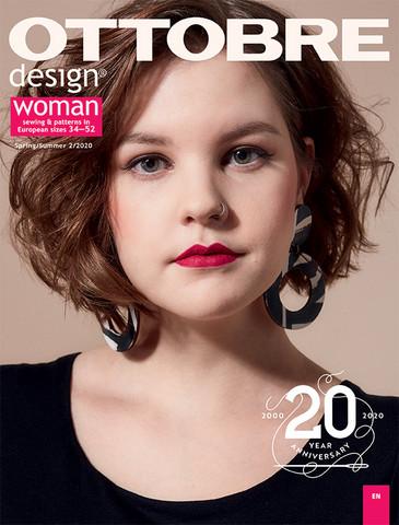 Ottobre design: Woman 34-52, kevät/kesä 2/2020