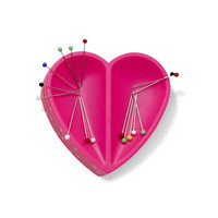 Prym: Love Sydän magneettineulatyyny, pinkki