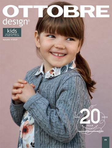 Ottobre design: Kids 62-170cm, syksy 4/2020