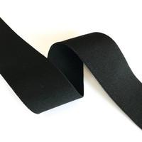 Bokserikuminauha 40mm, musta