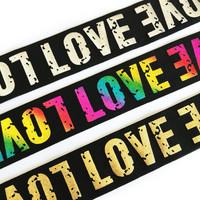 Bokserikuminauha 40mm, Love, useita värejä