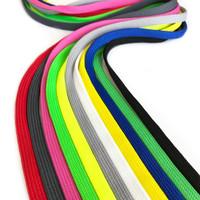 Litteä polyesterinyöri 10mm, useita värejä
