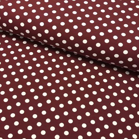 Trikoo: Dots, viininpunainen