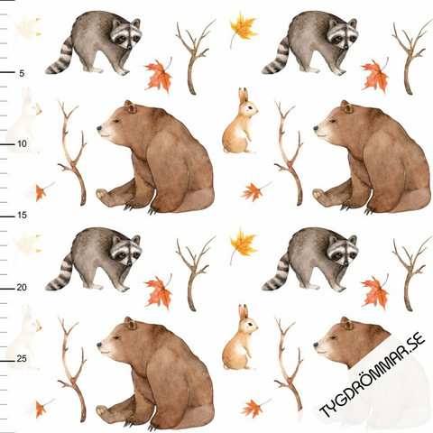 Tygdrömmar, luomutrikoo: Bear Woodland