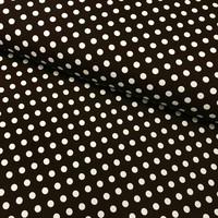 Trikoo: Dots, tummanruskea