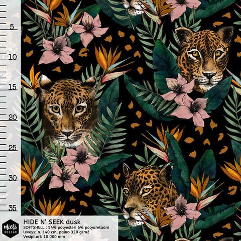 Mieli Design, softshell: HIDE N' SEEK dusk