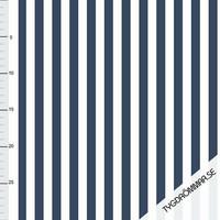 Tygdrömmar, luomutrikoo: Vertical lines, tummansininen