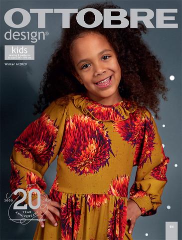 Ottobre design: Kids 56-170cm, talvi 6/2020