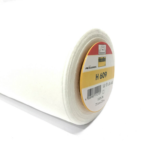 Vlieseline: Vlieseline H 609 joustava tukikangas, valkoinen