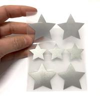 Heijastava silityskuva, tähdet