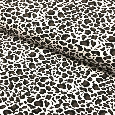 Digitrikoo: Leopard, tummanruskea - valkoinen