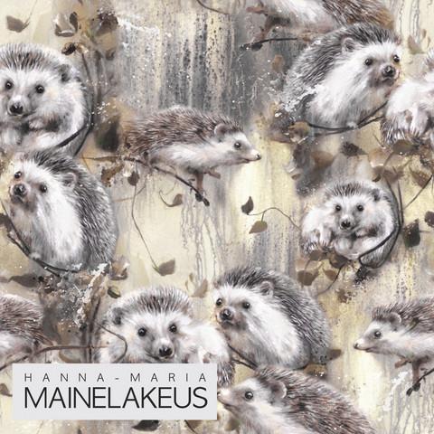 Mainelakeus: Siilit brown, trikoo