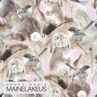 Mainelakeus: Hello fluffball pink, joustocollege