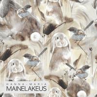 Mainelakeus: Hello fluffball beige, joustocollege
