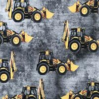 Digitrikoo: Puskutraktorit, betoni