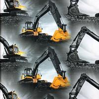 Digitrikoo: Suuret kaivurit