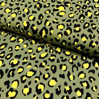 Lycra: Leopard, armeijanvihreä keltainen