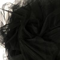 Pehmoinen tylli, musta