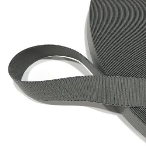 Kotimainen bokserikuminauha 30mm / 1m, harmaa