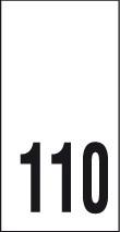Kokomerkki - 110 - 10kpl