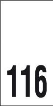 Kokomerkki - 116 - 10kpl