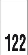 Kokomerkki - 122 - 10kpl