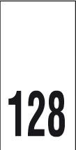 Kokomerkki - 128 - 10kpl