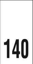 Kokomerkki - 140 - 10kpl