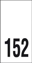 Kokomerkki - 152 - 10kpl
