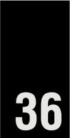 Kokomerkki - 36 - 10kpl
