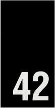 Kokomerkki - 42 - 10kpl