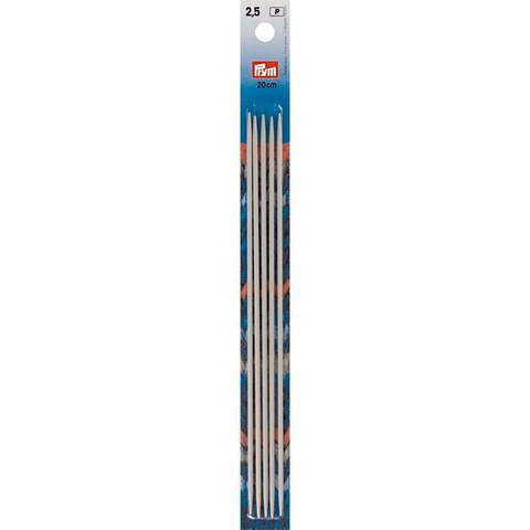 Prym: Sukkapuikko 2,5mm 20cm, alumiini