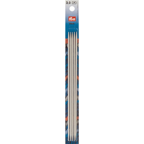 Prym: Sukkapuikko 3,0mm 20cm, alumiini