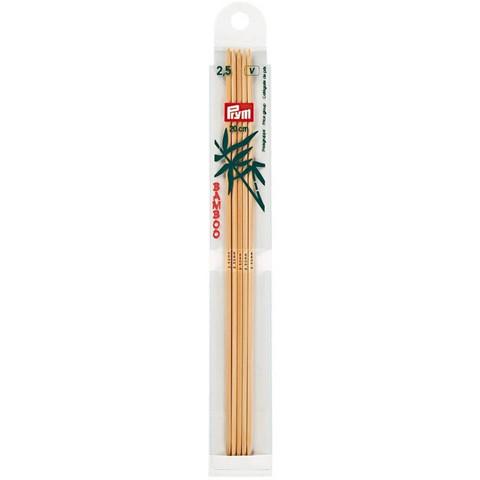 Prym: Sukkapuikko 2,5mm 20cm, bambu