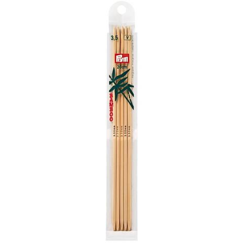 Prym: Sukkapuikko 3,5mm 20cm, bambu