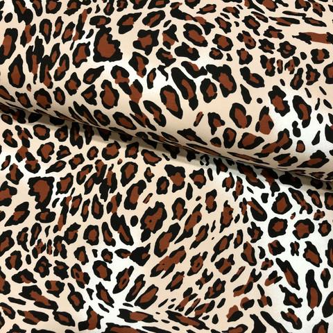 Digijoustocollege: Leopard, ruskea - musta - beige