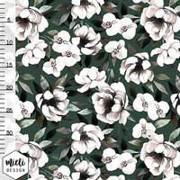 Mieli Design, luomujoustocollege: BLUSH BLOOM dark pine