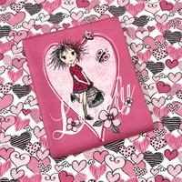 Digitrikoo: Lovely girls -raportti 75 x 150cm