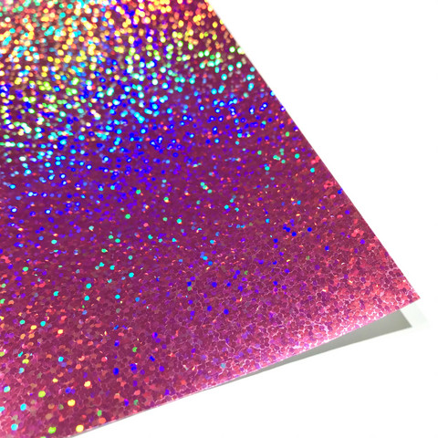 Silityskalvo: Kimalteleva pinkki foliokalvo