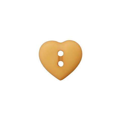 Prym: Nappi sydän 12mm, okra