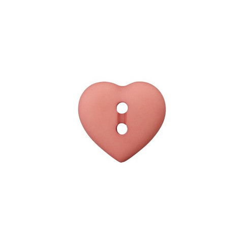 Prym: Nappi sydän 12mm, mauve
