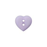 Prym: Nappi sydän 12mm, liila