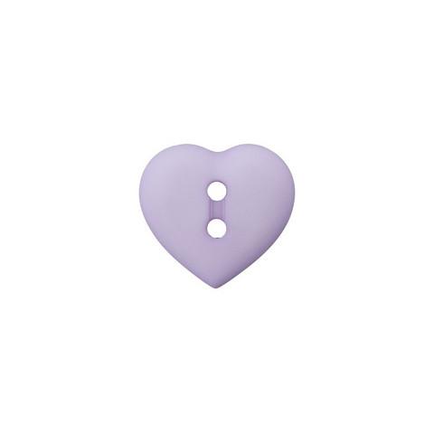 Prym: Nappi sydän 12mm, lila