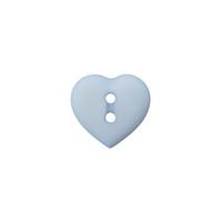 Prym: Nappi sydän 12mm, taivaansininen