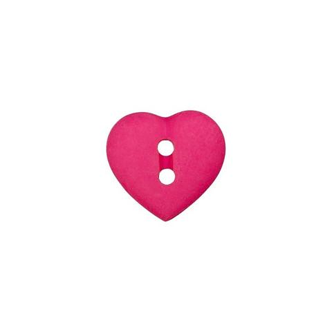 Prym: Nappi sydän 12mm, pinkki