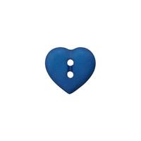 Prym: Nappi sydän 12mm, tummansininen