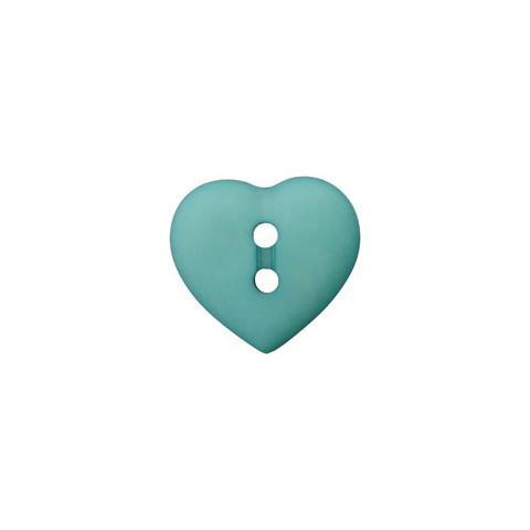 Prym: Nappi sydän 12mm, vanha vihreä